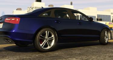 Моды для GTA 5 2015 Audi S6 4.0T
