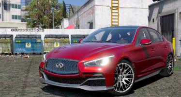 Моды для GTA 5 Infiniti Q50 Eau Rouge