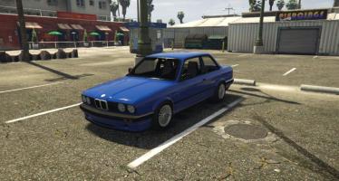 Моды для GTA 5 BMW e30 325i