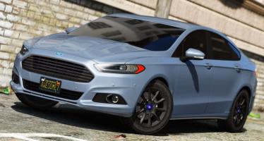 Моды для GTA 5 Ford Mondeo. Fusion Saloon