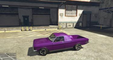 Моды для GTA 5 GAZ-24 Pick-Up + Coupe
