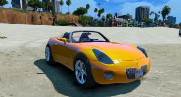 Моды для GTA 5 Pontiac Solstice