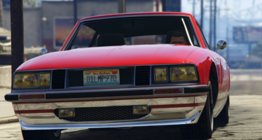 Моды для GTA 5 Lampadati Pigalle with US plates