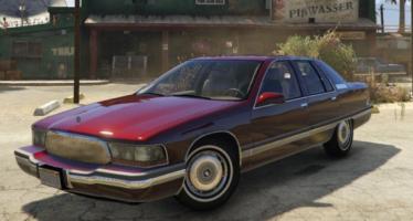 Моды для GTA 5 Buick Roadmaster 1996