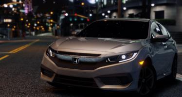 Моды для GTA 5 2017 Honda Civic LX Sedan