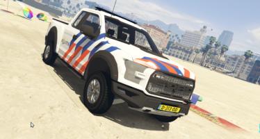 Моды для GTA 52017 Ford F-150 Raptor Dutch Police