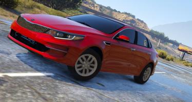 Моды для GTA 5 Kia Optima 2017 Standard