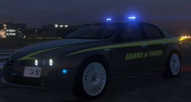 Моды для GTA 5 Alfa Romeo 159 Guardia di Finanza