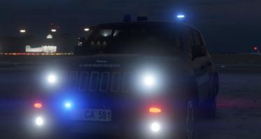Моды для GTA 5 Jeep Renegade Carabinieri