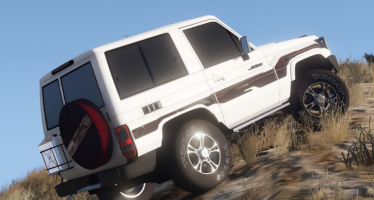Моды для GTA 5 2013 Toyota Land Cruiser Machito