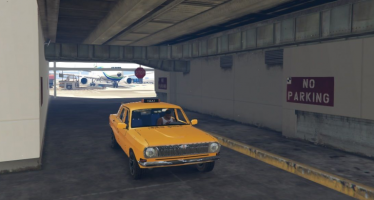 Моды для GTA 5 GAZ-24 Taxi