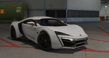 Моды для GTA 5 W-Motors Lykan Hypersport