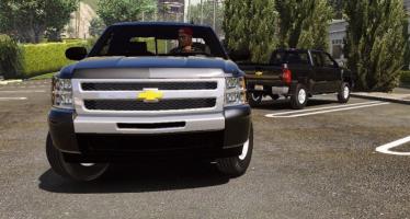 Моды для GTA 5 2010 Chevrolet Silverado 1500 crew cab