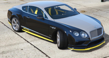 Моды для GTA 5 Bentley Continental GT Breitling Jet Team