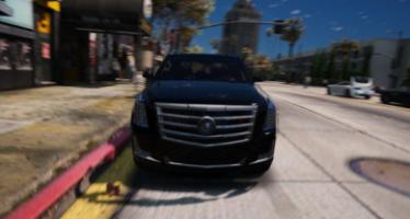 Моды для GTA 5 Cadillac Escalade FBI Patrol Vehicle 2015
