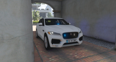 Моды для GTA 5 Danish Unmarked Police Jaguar