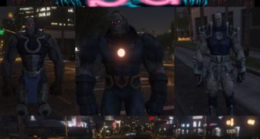 Моды для GTA 5 Darkseid Invasion Pack