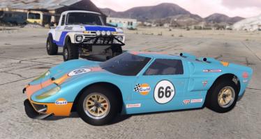 Моды для GTA 5 Ford GT40 MK2 1966