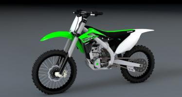 Моды для GTA 5 2016 Kawasaki KX250F