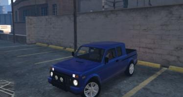 Моды для GTA 5 LADA Niva Pick-Up