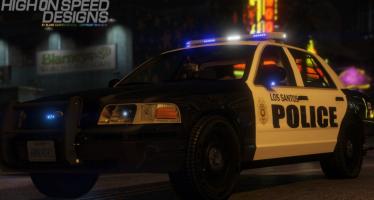 Моды для GTA 5 Los Santos Police CVPI