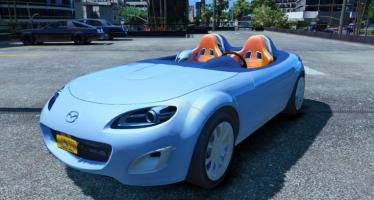 Моды для GTA 5 Mazda MX-5 Superlight