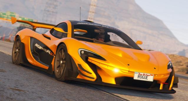 McLaren P1 GTR Road Legal