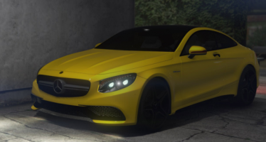 Моды для GTA 5 Mercedes-Benz AMG S63 Coupe