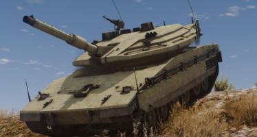 Моды для GTA 5 Merkava Mk.IV Israeli MBT