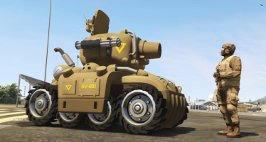 Моды для GTA 5 Metal Slug SV-001