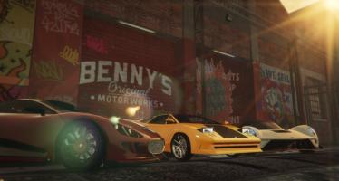 Моды для GTA 5 New Benny's Original Motor Works in SP