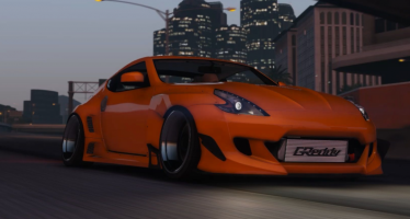 Моды для GTA 5 Nissan 370z Pandem