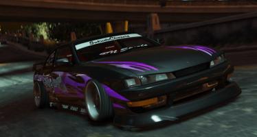 Моды для GTA 5 Nissan Silvia S14 Kouki BN Sports