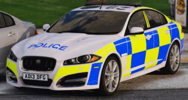 Моды для GTA 5 Police Jaguar XFR