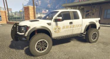 Моды для GTA 5 Police Raptor Lifted Towtruck