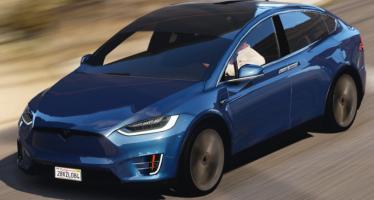 Моды для GTA 5 Tesla Model X P90D 2016