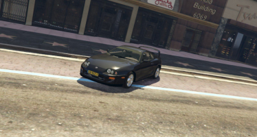 Моды для GTA 5 Unmarked Toyota Supra 1998 Dutch Police