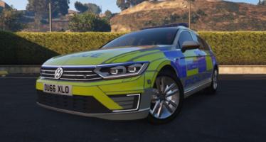 Моды для GTA 5 2017 Met Police Volkswagen Passat GTE Estate