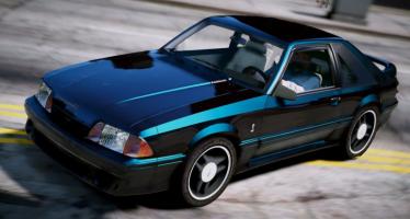 Моды для GTA 5 1993 Ford Mustang Cobra
