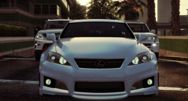 Моды для GTA 5 2009 Lexus IS-F with WALD Bodykit