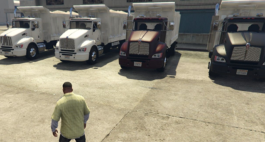 Моды для GTA 5 2012 Kenworth T440 Damp Version