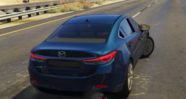 Моды для GTA 5 2016 Mazda 6