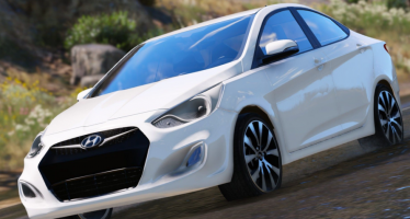 Моды для GTA 5 2017 Hyundai Accent