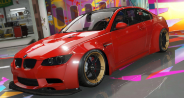 Моды для GTA 5 BMW M3 E92 Liberty Walk 2008