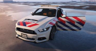 Моды для GTA 5 Dutch police mustang 2015