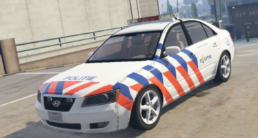 Моды для GTA 5 Hyundai Sonata Dutch police
