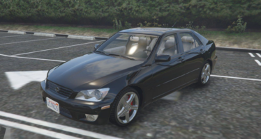 Моды для GTA 5 Lexus IS300