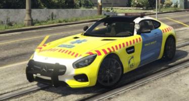 Моды для GTA 5 Mercedes AMG SMUR