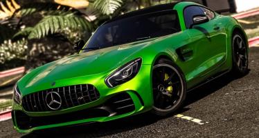 Моды для GTA 5 Mercedes-Benz AMG GT R 2017