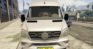 Моды для GTA 5 Mercedes Benz Sprinter 2015